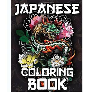 Japanese Colouring Book