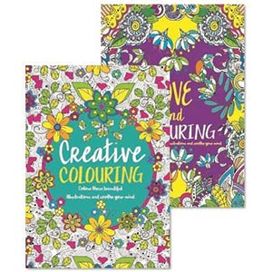 Adult Colouring Books - Anti-Stress