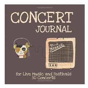 Concert Journal for Live Music