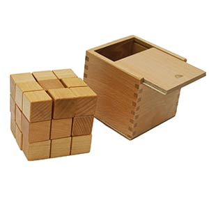 TOWO Large Wooden Soma Cube Puzzle