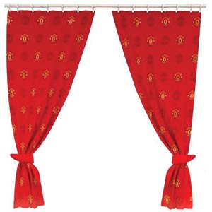 Manchester United Football Curtains