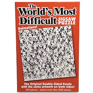 Worlds Most Difficult Jigsaw - Dalmatians