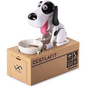 Eating Dog Coin Bank