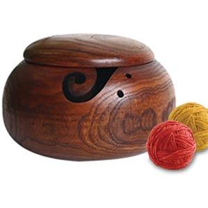 Handmade Yarn Holder For Knitting