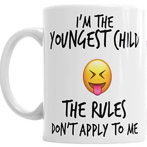 Youngest Child Rules Mug