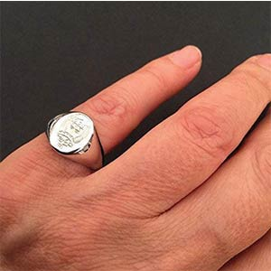 Personalised Signet Ring