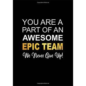 Teamwork Motivational Notepad