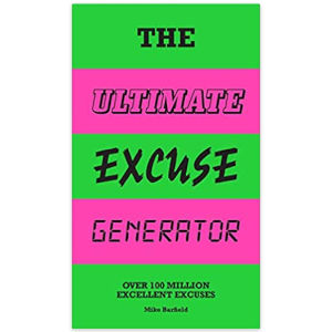 100 Million Excuses Book