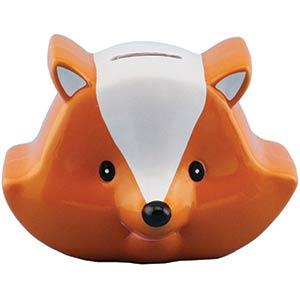 Fox Piggy Bank