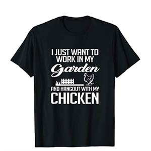 Novelty Gardening T Shirt
