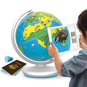 The Educational, Augmented Reality Based Globe