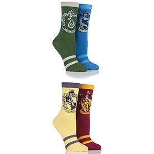 Harry Potter House Badges Socks
