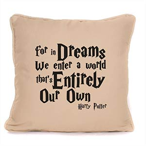 Personalised Harry Potter Cushion