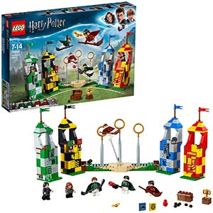 Harry Potter Quidditch Match Lego