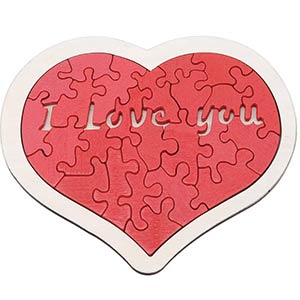 Building Blocks Creative Heart Jigsaw