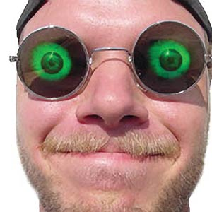 Hologram Eyeball Glasses