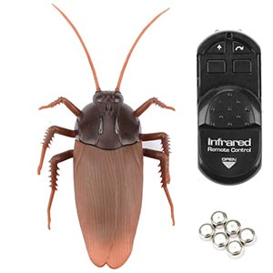 Infrared Remote Control Fake Cockroach