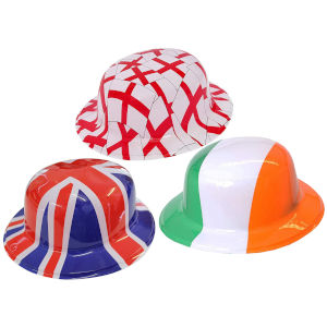Union Jack, Ireland, England Hats