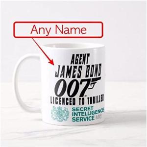 Personalised James Bond Mug