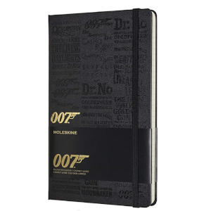 James Bond Ruled Notebook