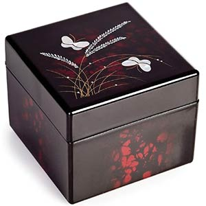 Japanese Lacquer Jewellery Box
