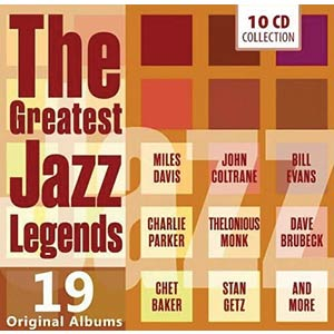 The Greatest Jazz Legends CD