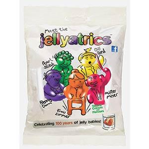 Jellyatrics Novelty Jelly Babies