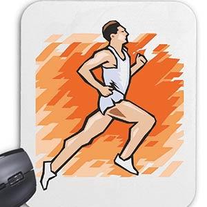 Computer Mousepad Jogging