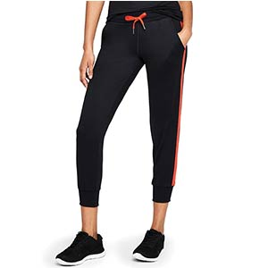 Women's Cropped Side Stripe Joggers