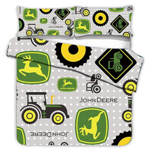 Animal and Tractor Printed Bedding Set