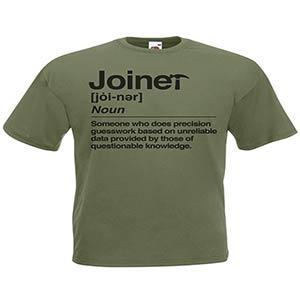 Novelty Joiner T Shirt