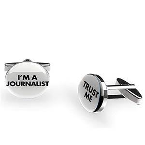 Journalist Cufflinks
