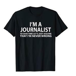 Journalist Novelty T Shirt