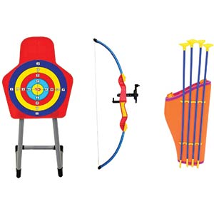 Bow & Arrow Archery Target Set