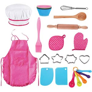 25 Pcs Kids Chef Set