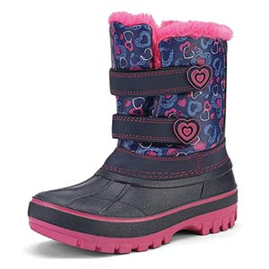 Girls Warm Snow Boots