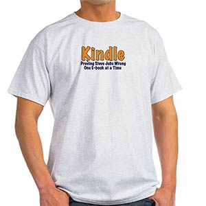 Kindle Reader T Shirt