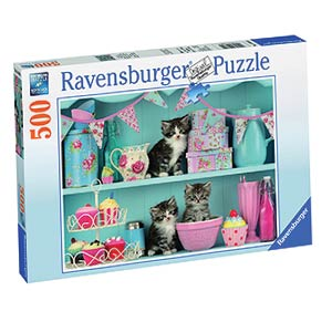 Kittens and Cupcakes Jigsaw