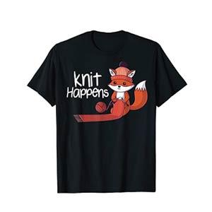Knit Happens T Shirt