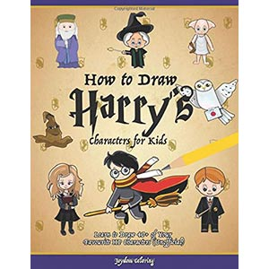 How to Draw Harry's Characters for Kids