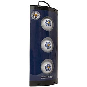 Leicester City Golf Balls Set