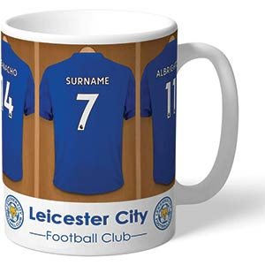 Leicester City FC Personalised Mug