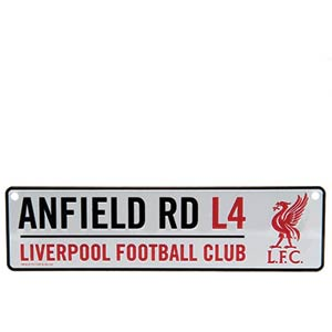 Liverpool FC 3D Hanging Sign - ANFIELD RD
