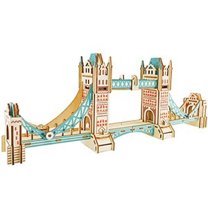 London Tower Bridge 3D Puzzle
