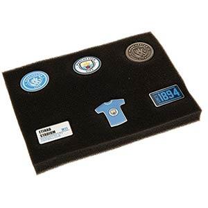 Manchester City F.C. 6 Piece Badge Set