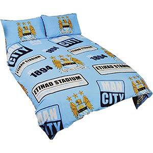 Manchester City Double Duvet Cover Set