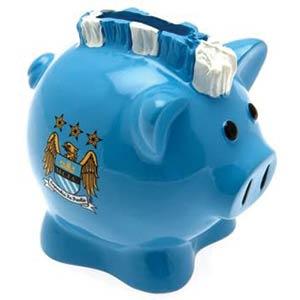 Manchester City FC Mowhawk Piggy Bank