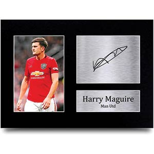 Manchester United Printed Signed Autograph Picture