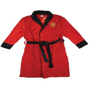 Manchester United Fleece Dressing Gown