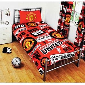 Manchester United Single Duvet Set
